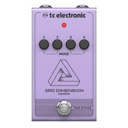 TC Electronic 3RD DIMENSION CHORUS Analogue Guitar Effects Pedal