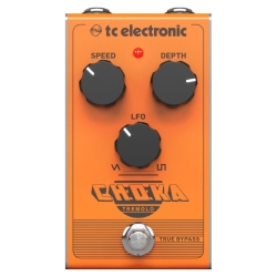 TC Electronic CHOKA TREMOLO Vintage-Flavoured All-Analogue Tremolo Effects Pedal