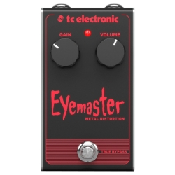 TC Electronic EYEMASTER METAL DISTORTION Guitar Effects Pedal