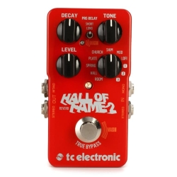 TC Electronic HOF2REVERB Hall of Fame 2 Reverb Guitar Effects Pedal