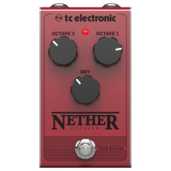 TC Electronic NETHER OCTAVER All-Analogue Monophonic Octave Guitar Effects Pedal