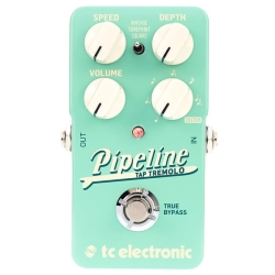 TC Electronic PIPELINE TAP TREMOLO Guitar Effects Pedal with Tap Tempo