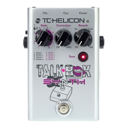TC Helicon Talkbox Synth Effects Pedal