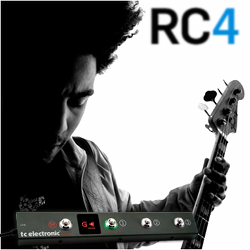 TC Electronic RC 4 Floor Controller for Rebel Head Amplifiers