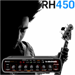 TC Electronic RH450 Rebel Head Class-D Bass Amplifier