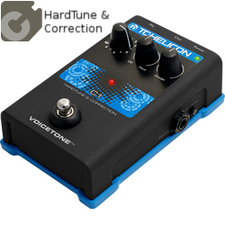 TC Helicon VoiceTone C1 Vocal Correction Pedal
