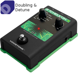 TC Helicon VoiceTone D1 Vocal Doubling Pedal