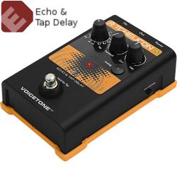 TC Helicon VoiceTone E1 Echo & Tap Delay Pedal