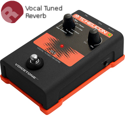 TC Helicon VoiceTone R1 Vocal Reverb Pedal