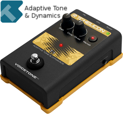 TC Helicon VoiceTone T1 Adaptive Tone & Dynamics Stompbox