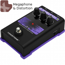 TC Helicon VoiceTone X1 Distortion & Megaphone Pedal **Demo clearance unit**
