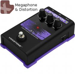 TC Helicon VoiceTone X1 Distortion & Megaphone Pedal