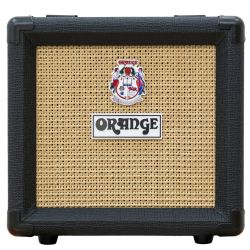 Orange PPC108-BK 1x8 20W Closed-Back Guitar Speaker Cabinet in Black