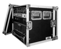 """Road Ready RR10UAD 10U Amplifier Deluxe Case – 18"""" body depth"""