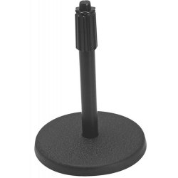 On Stage Stands DS7200B Adjustable Height Desktop Stand, Black