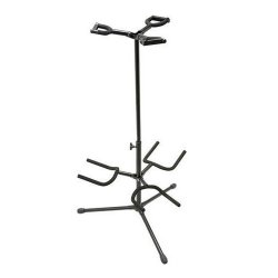 On Stage Stands GS7321BT Deluxe Folding Triple Guitar Stand