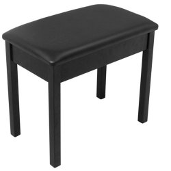 On Stage Stands KB8802B Keyboard / Piano Bench (Black)