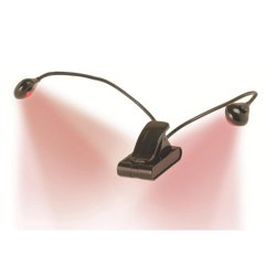 On Stage Stands LED202R Clip-On LED Light (Red)