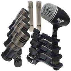 CAD Audio TOURING7 7 Piece Percussion Microphone Pack