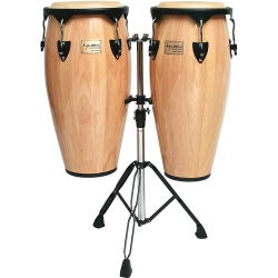 "Tycoon STC-B N/D Supremo Series 10/11"" Congas in Natural Finish"