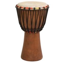 "Tycoon TAJ-10 Rope Tuned African Djembe 10"" Hand Drum"