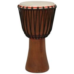 "Tycoon TAJ-12 Rope Tuned African Djembe 12"" Hand Drum"
