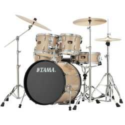 Tama IP62H6N-CHM Imperialstar 6-Piece Drum Set with Hardware and Cymbals-CHAMPAGNE MIST