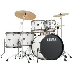 Tama IP62H6N BSGW Imperialstar 6 Piece Drum Set With Hardware And Cymbals SUGAR WHITE