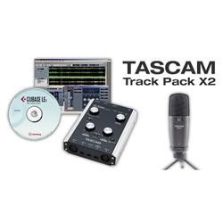 Tascam US-2x2TP TrackPackX2 Total Production System for Music, Podcasting or Production