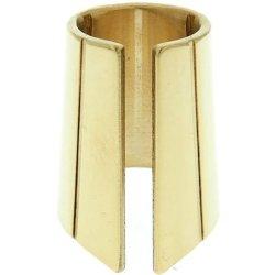 Thimble Slide DHW09 Maxim Brass Finger Guitar Slide -Small