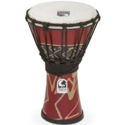 Toca SFDJ-7RP Freestyle 7 inch Djembe - Bali Red