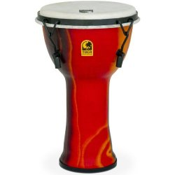 Toca SFDMX-9F Freestyle Mechanically Tuned 9-Inch Djembe - Fiesta Finish