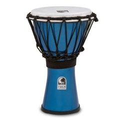 "Toca TFCDJ-7MB Freestyle Colorsound 7"" Djembe - Metallic Blue"