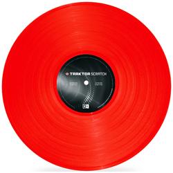 Native Instruments Traktor Scratch Pro Control Vinyl MK2 RED Scratch Vinyl in RED