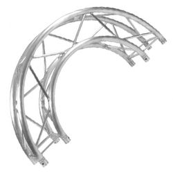 Trusst CT290-415CIR-180 Modular Aluminum Semi-Circle Arc Truss Section