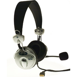 CAD Audio U2 USB Stereo Headphone with Microphone