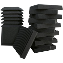 "Ultimate Acoustics UA-KIT-SB2 12 Bevel & 12 Wedge-style Professional Studio Foam - 12""x12""x2"" (discontinued clearance)"