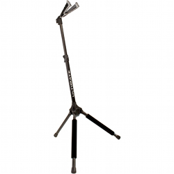 Ultimate Support GS1000 Genesis Series Guitar Stand with Locking Legs and Self-closing Yoke Security Gate (discontinued clearance)