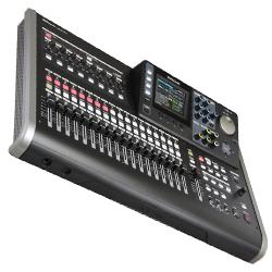 TASCAM DP-24SD Digital Portastudio 24 Track Recording Workstation and Mixer