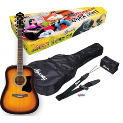 Ibanez V50NJP-VS Jampack Quick Start Acoustic Guitar Kit