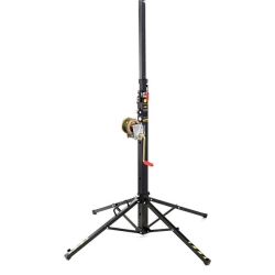 VMB TE-034B Telescopic Series Towerlift 275 lbs/ 12.6' Max (125 kg/3.8m) in Black