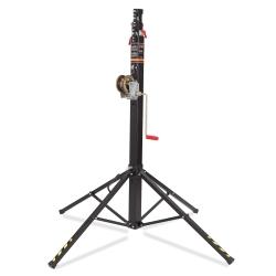 VMB TE-046B Telescopic Series Towerlift 330 lbs/ 15.1' Max (150 kg/4.6 m) in Black
