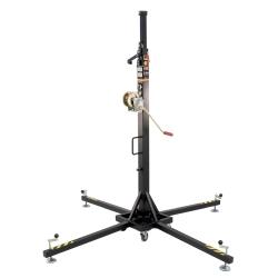 VMB TE-064B Telescopic Series Towerlift 275 lbs/ 17.5' Max (125 kg/5.35m) in Black