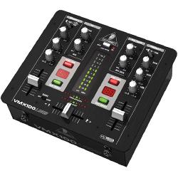 Behringer VMX100USB 2 Channel USB DJ Mixer