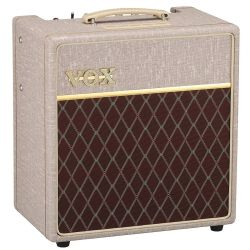Vox AC4HW1 Hand Wired 4W Guitar Combo Amp with Celestion G12M Greenback Speaker
