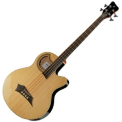 Warwick C574 100CR RockBass Alien Standard 4 String RH Acoustic Electric Bass-Natural High Polish