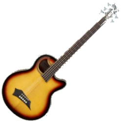 Warwick C575 680CR RockBass Alien Standard 5-String RH Acoustic Electric Bass-Vintage Sunburst