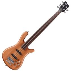 Warwick G215X900CR GPS Streamer LX 5-String RH Electric Bass-Natural Satin