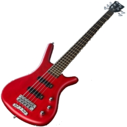 Warwick G245A010CR GPS Corvette 5-String RH Ash Active Electric Bass-Burgundy Red