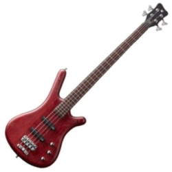 Warwick G244C010CR GPS Corvette 4-String RH Ash Passive Electric Bass-Burgundy Red